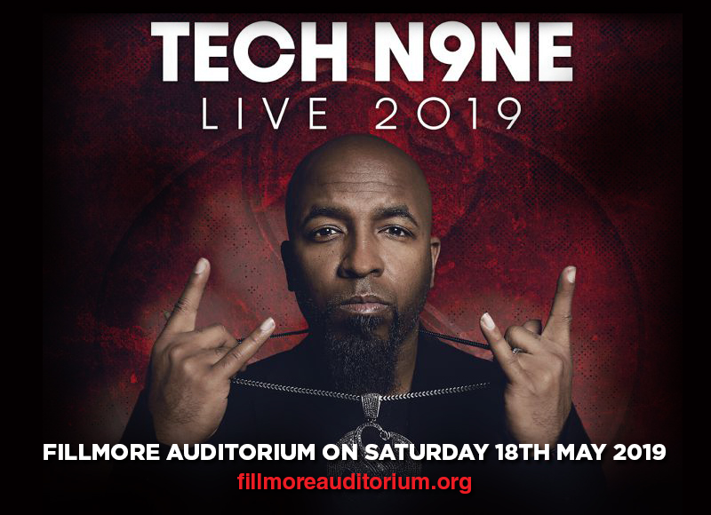 Tech N9ne at Fillmore Auditorium