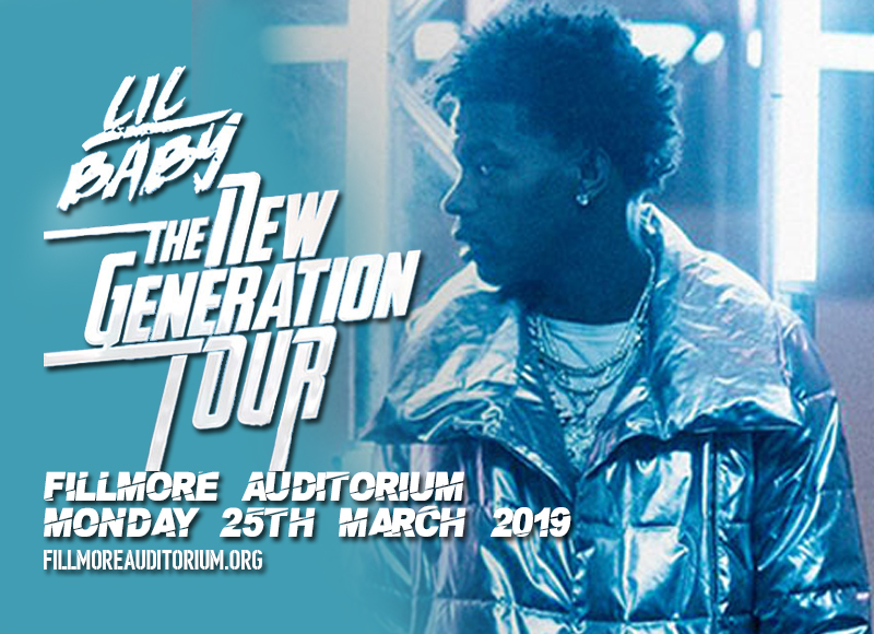 Lil Baby at Fillmore Auditorium