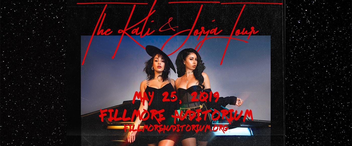Jorja Smith & Kali Uchis at Fillmore Auditorium