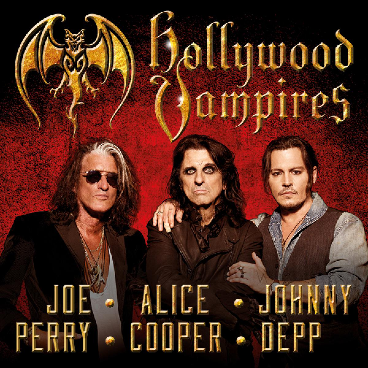 Hollywood Vampires: Alice Cooper, Johnny Depp & Joe Perry at Fillmore Auditorium