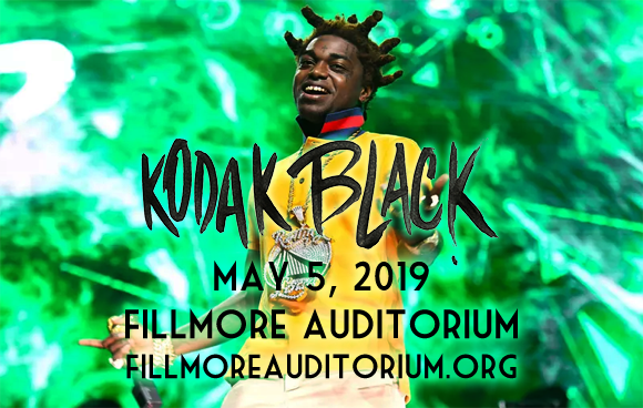 Kodak Black at Fillmore Auditorium
