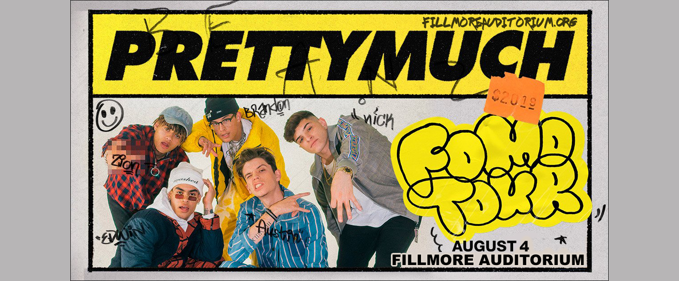 Prettymuch at Fillmore Auditorium