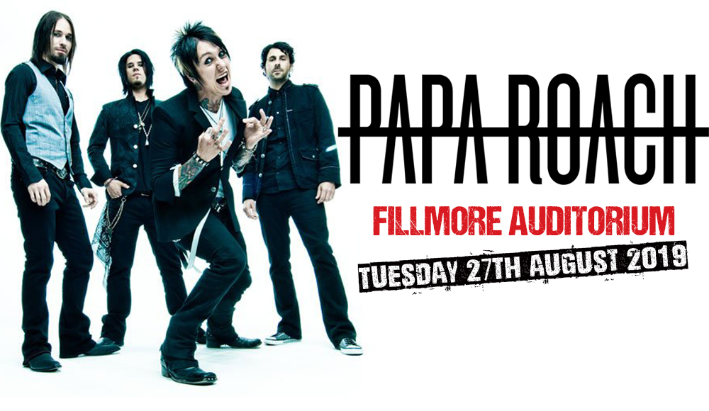 Papa Roach at Fillmore Auditorium