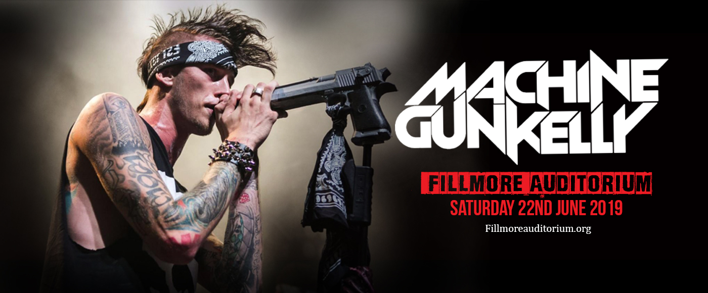 Machine Gun Kelly at Fillmore Auditorium