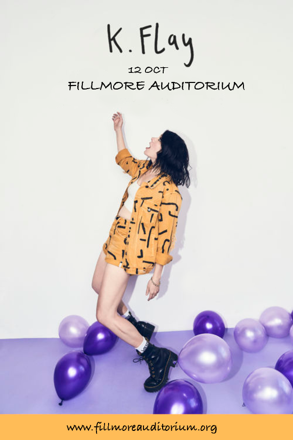 K. Flay at Fillmore Auditorium