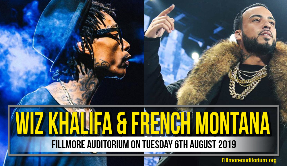 Wiz Khalifa at Fillmore Auditorium