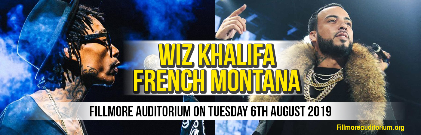 Wiz Khalifa Tickets 6th August Fillmore Auditorium At