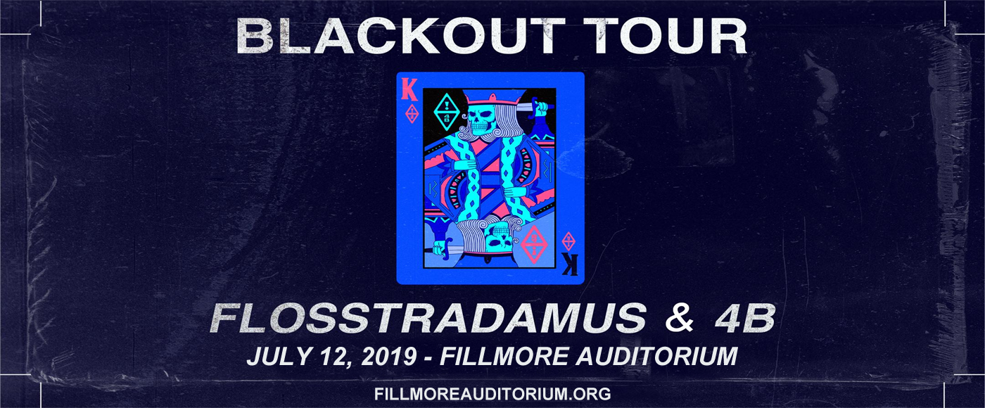 Flosstradamus at Fillmore Auditorium