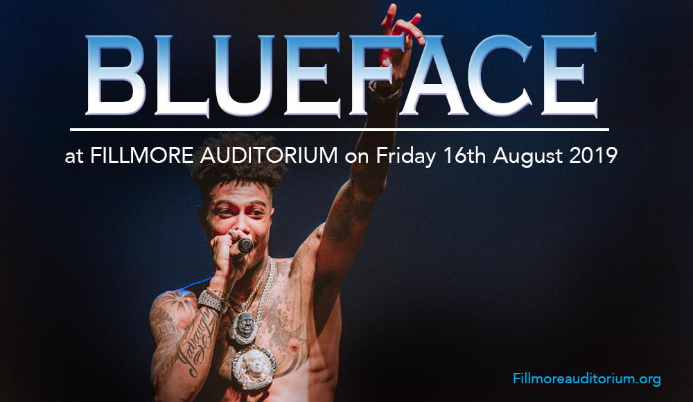 Blueface at Fillmore Auditorium