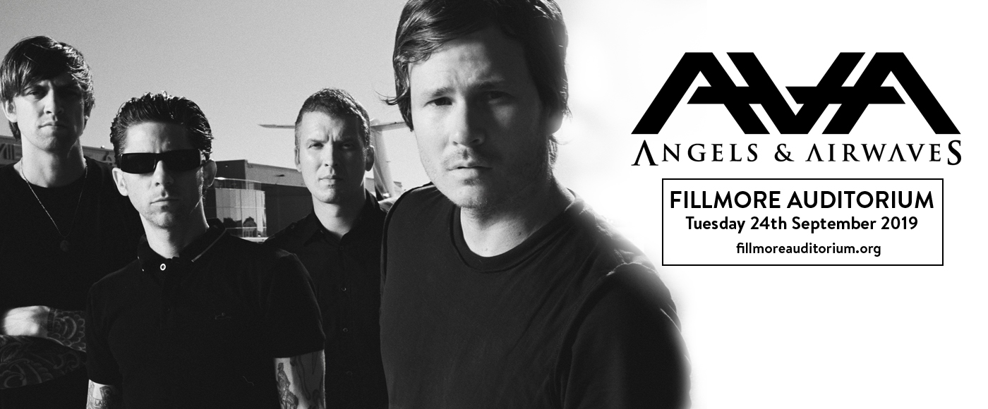 Angels and Airwaves at Fillmore Auditorium