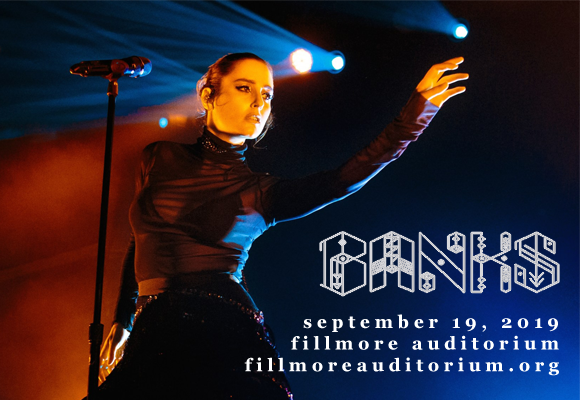Banks at Fillmore Auditorium
