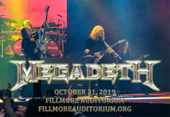 Megadeth at Fillmore Auditorium