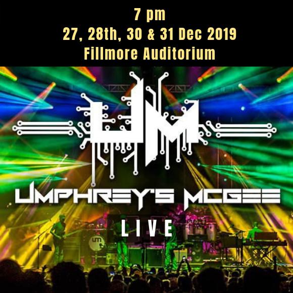 Umphrey's McGee at Fillmore Auditorium