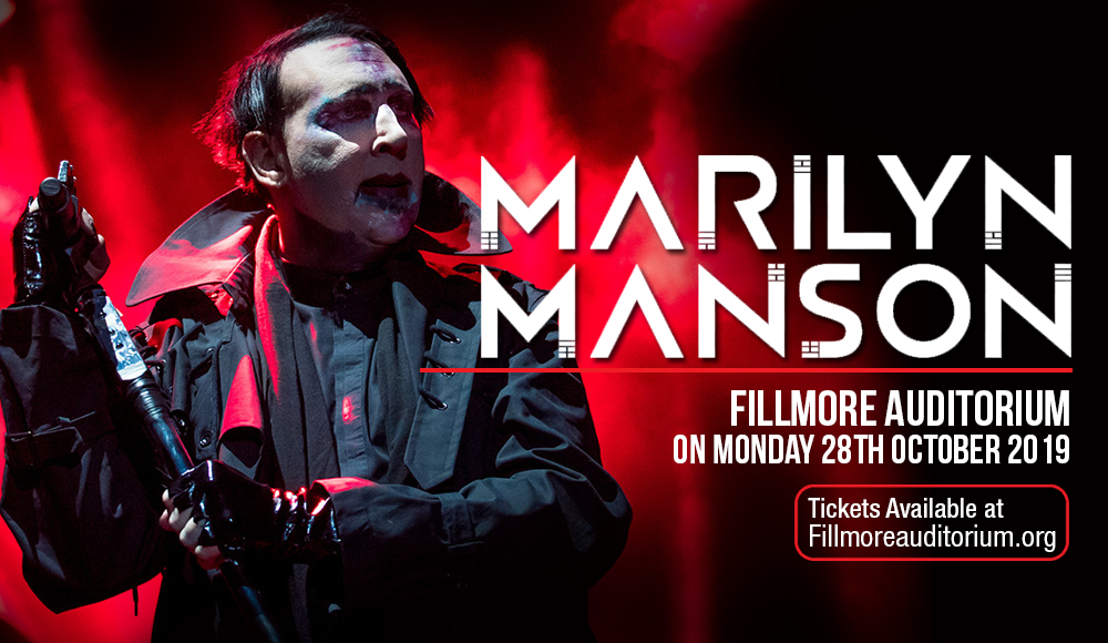 Marilyn Manson at Fillmore Auditorium