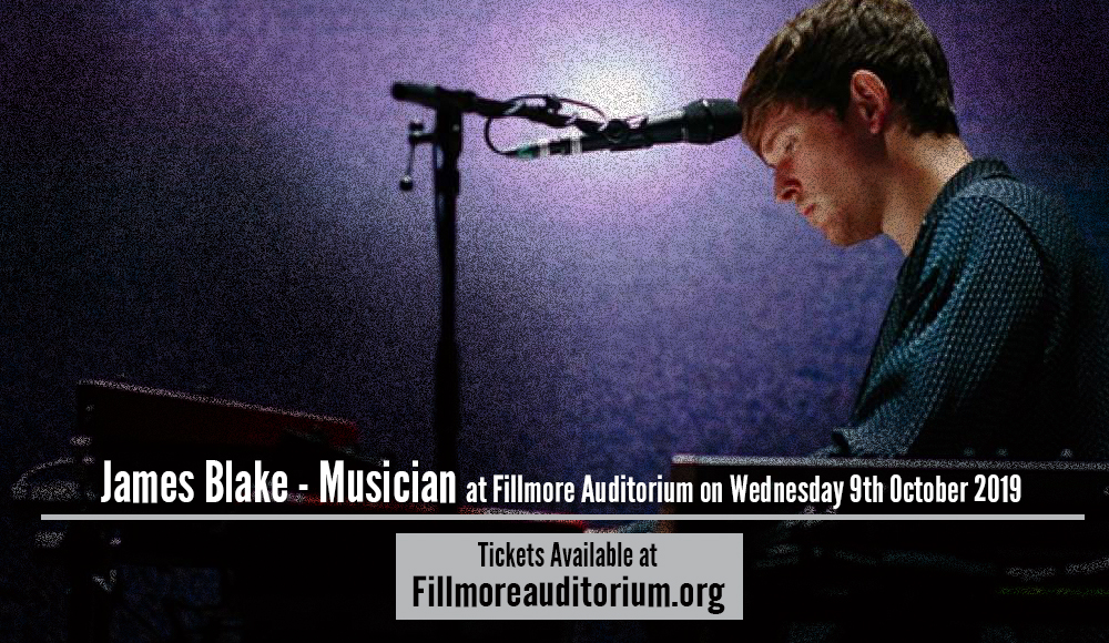 James Blake - Musician at Fillmore Auditorium