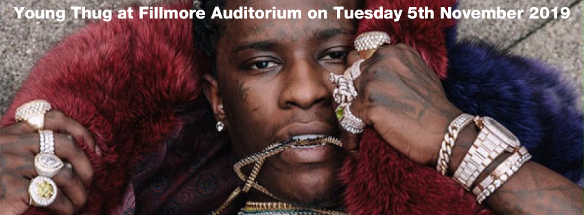 Young Thug at Fillmore Auditorium