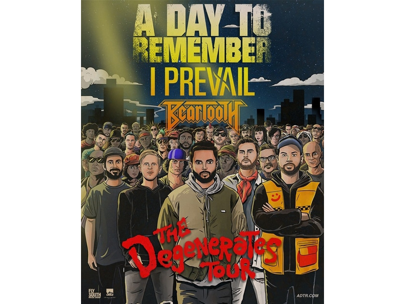 A Day To Remember, I Prevail & Beartooth at Fillmore Auditorium