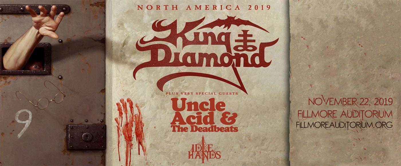 King Diamond at Fillmore Auditorium