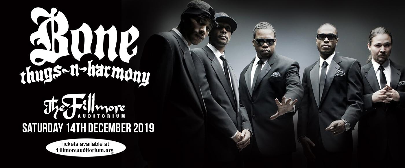 Bone Thugs N Harmony at Fillmore Auditorium