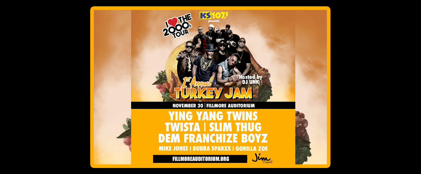 KS 107.5 1st Annual Turkey Jam at Fillmore Auditorium