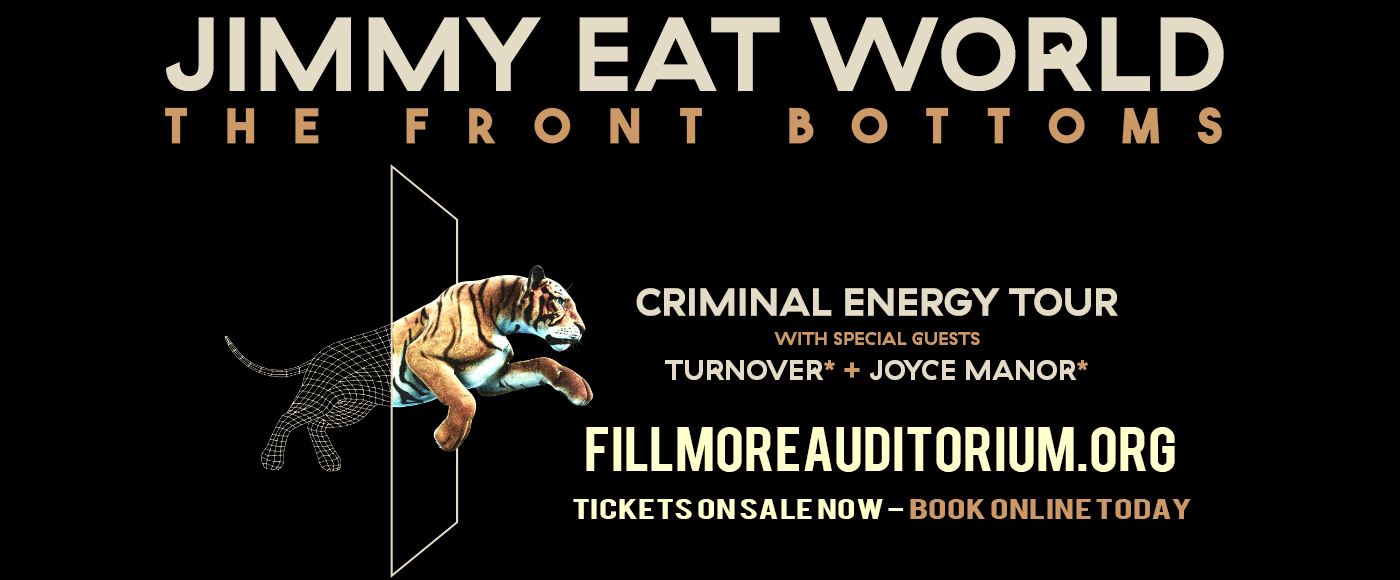 Jimmy Eat World & The Front Bottoms at Fillmore Auditorium