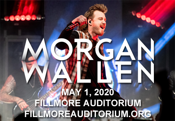 Morgan Wallen, Jon Langston & Ashland Craft [POSTPONED] at Fillmore Auditorium