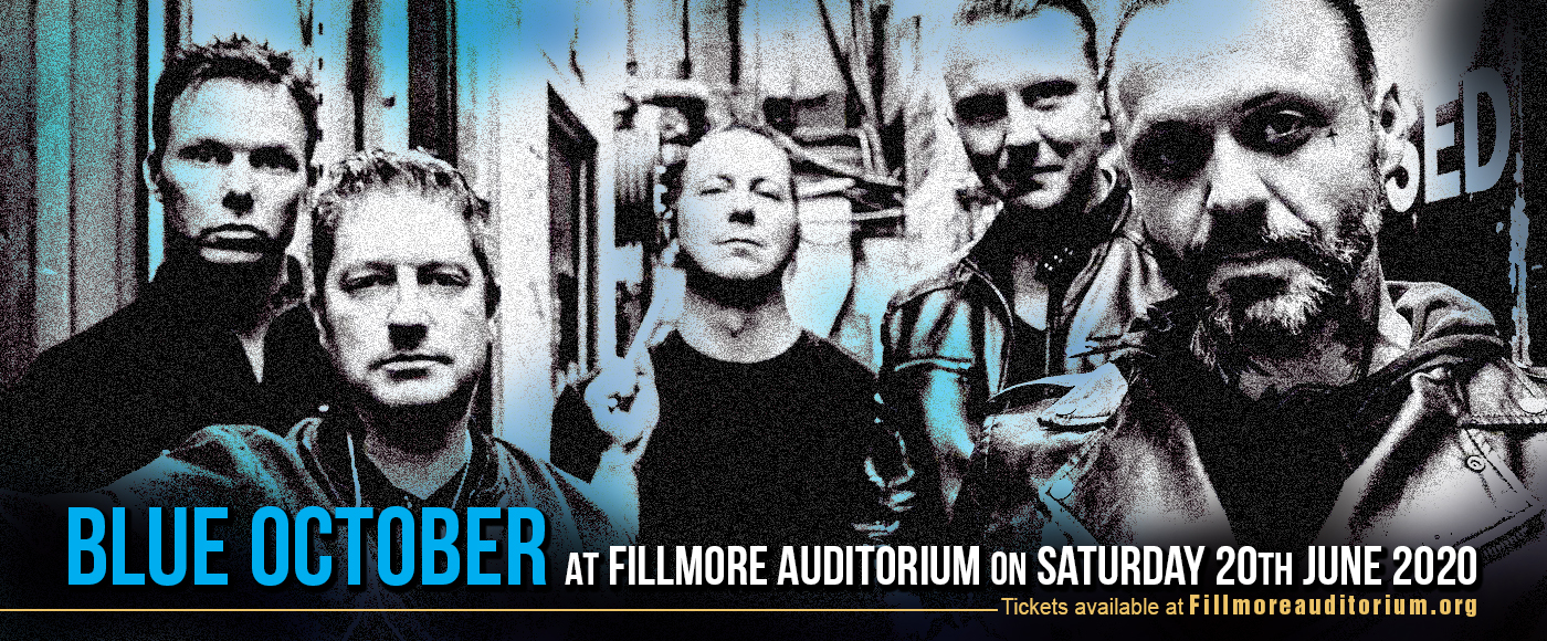 Blue October at Fillmore Auditorium