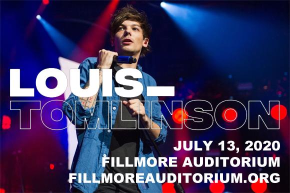 Louis Tomlinson [POSTPONED] at Fillmore Auditorium