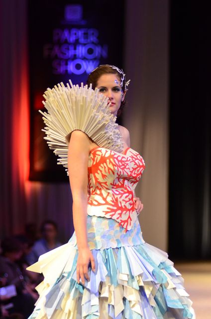 Paper Fashion Show - The One Club For Creativity Denver at Fillmore Auditorium