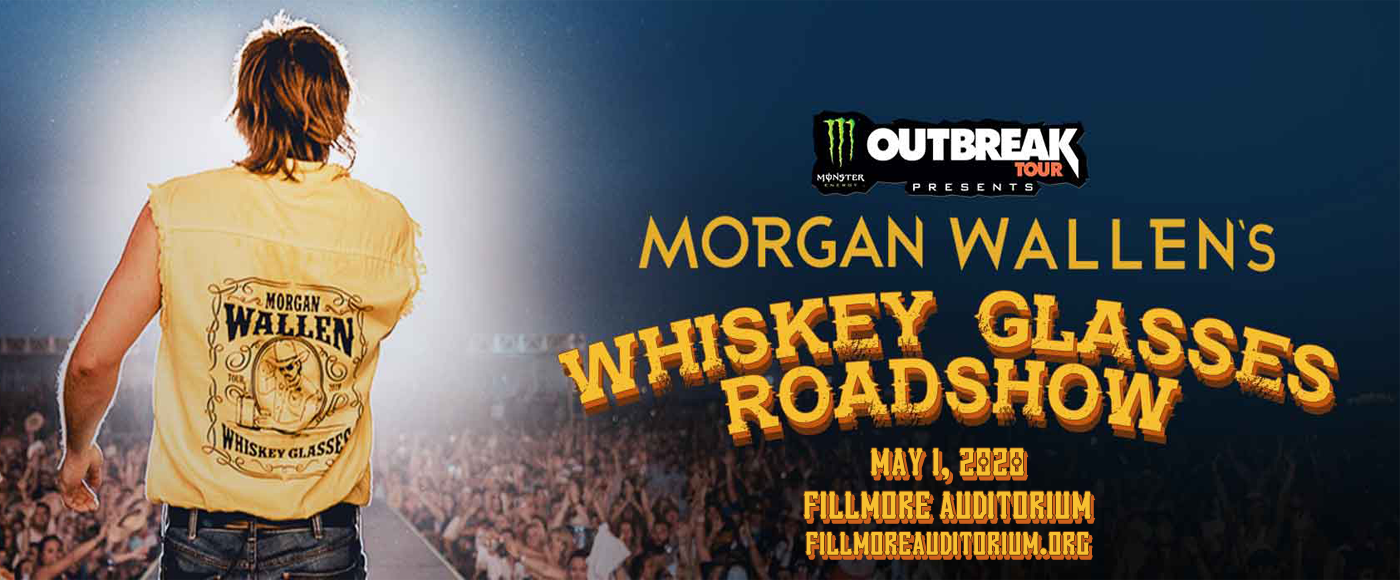 Morgan Wallen, Jon Langston & Ashland Craft [CANCELLED] at Fillmore Auditorium