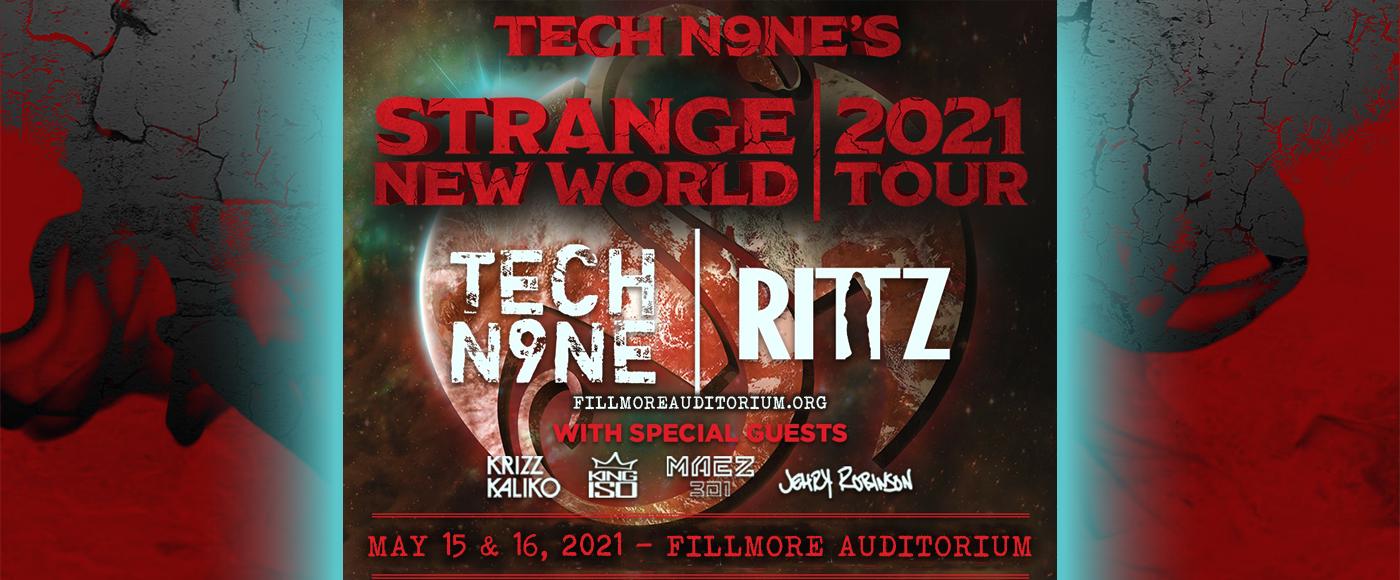Tech N9ne [POSTPONED] at Fillmore Auditorium