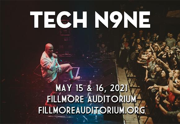 Tech N9ne [CANCELLED] at Fillmore Auditorium