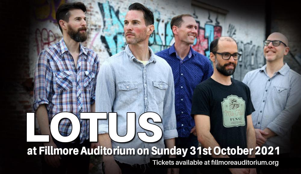 Lotus at Fillmore Auditorium