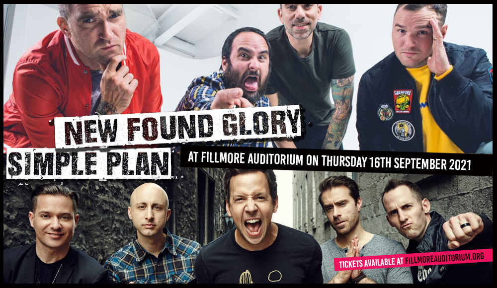 New Found Glory & Simple Plan at Fillmore Auditorium