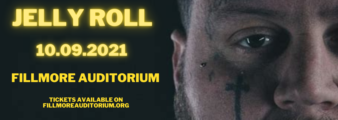 Jelly Roll at Fillmore Auditorium