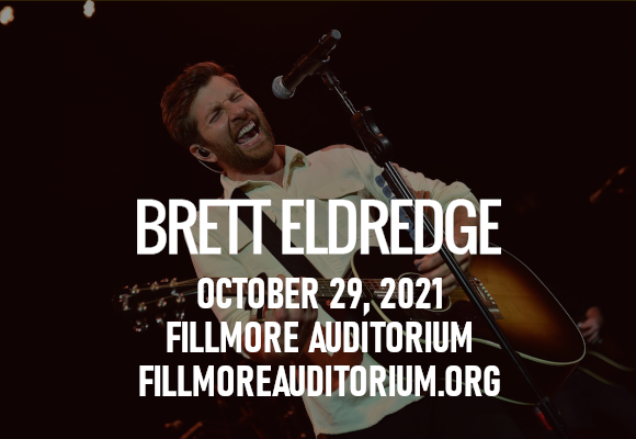 Brett Eldredge at Fillmore Auditorium