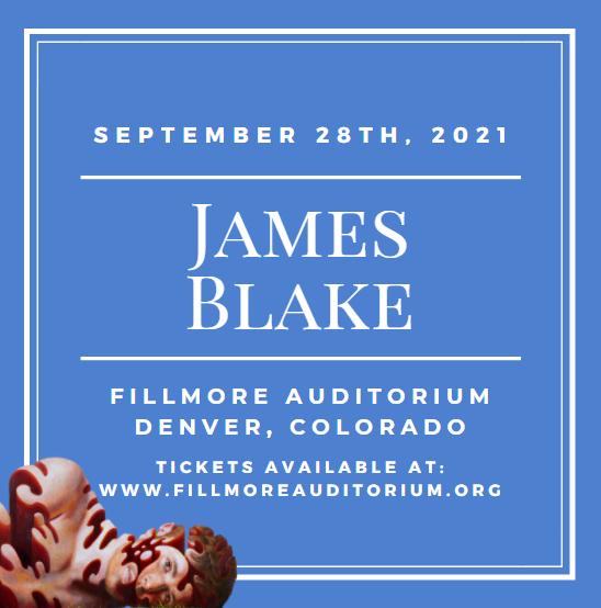 James Blake at Fillmore Auditorium