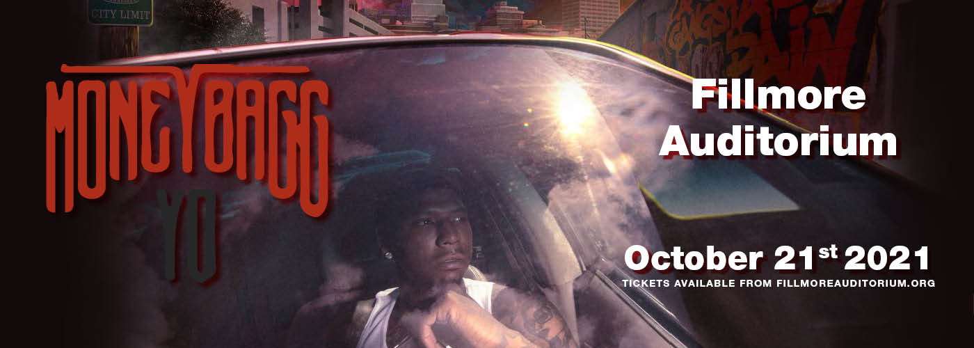 Moneybagg Yo [CANCELLED] at Fillmore Auditorium