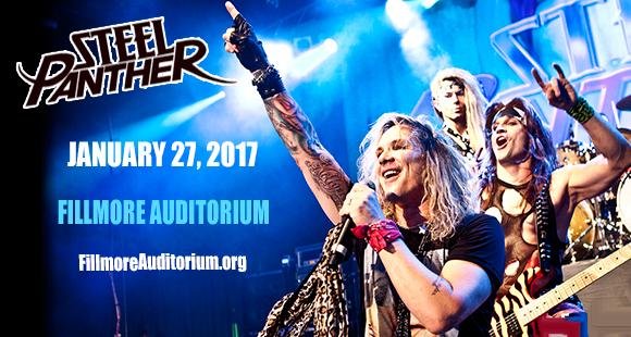 Steel Panther at Fillmore Auditorium