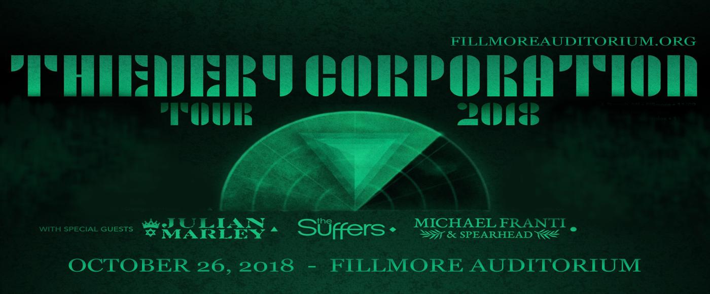 Thievery Corporation at Fillmore Auditorium