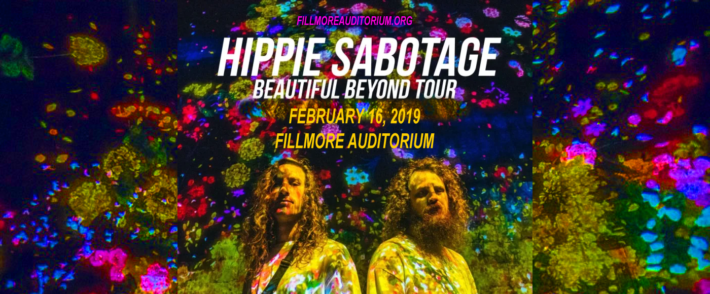 Fillmore Hentai hippie sabotage tickets | 16th february | fillmore