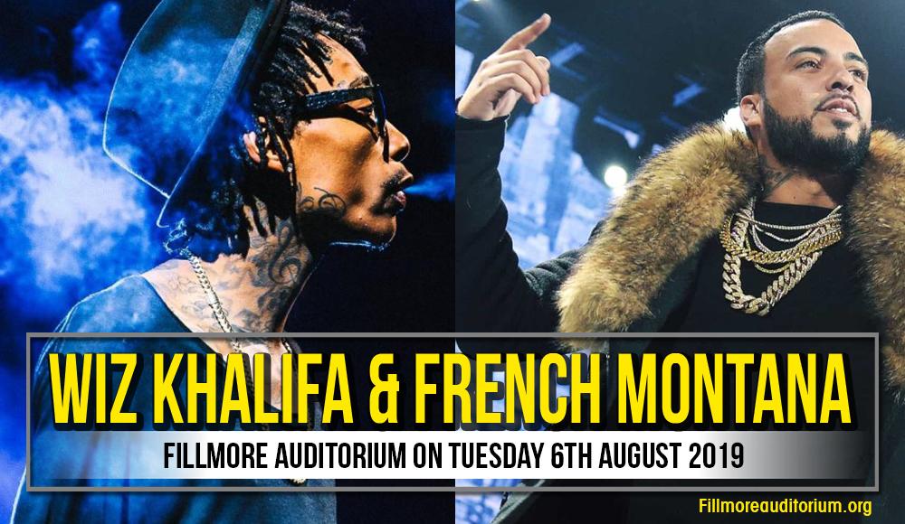 Wiz Khalifa at Fillmore Auditorium