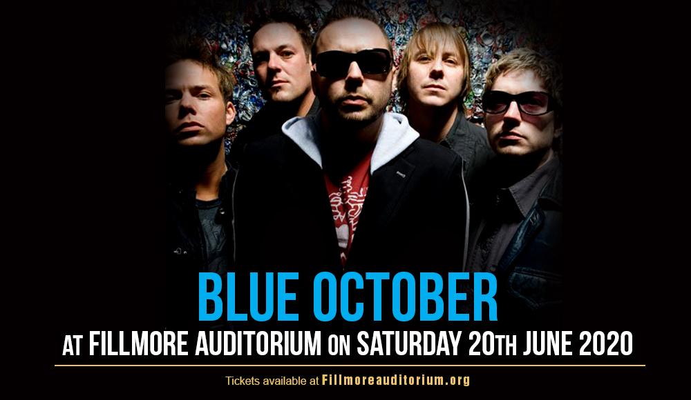 Blue October at Fillmore Auditorium