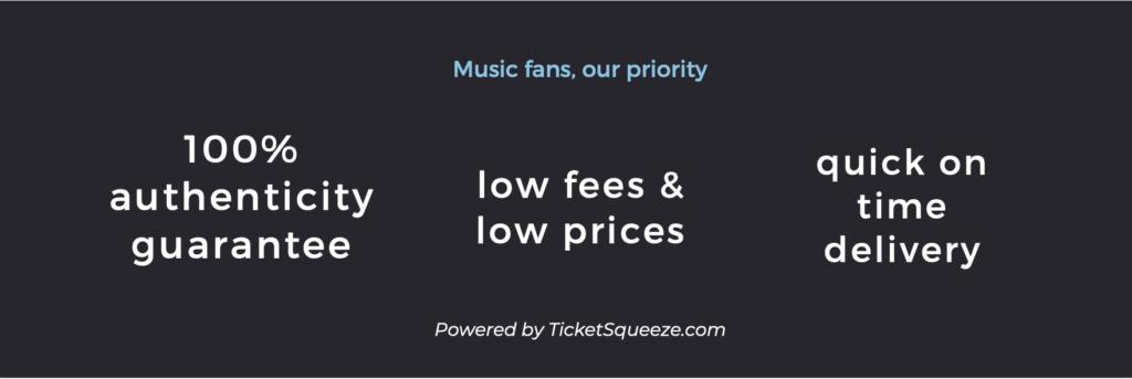 concert ticket guarantee