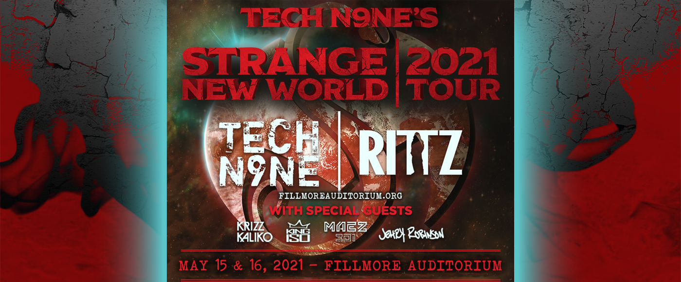 Tech N9ne [CANCELLED] at Fillmore Auditorium