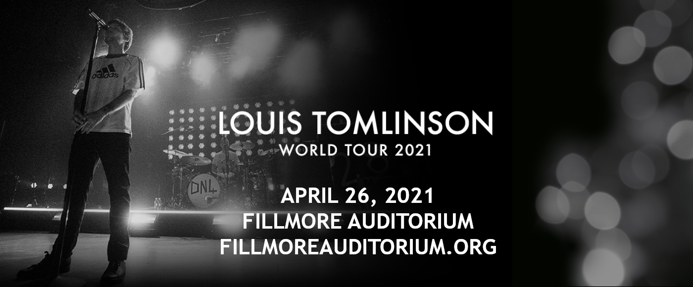 Louis Tomlinson at Fillmore Auditorium