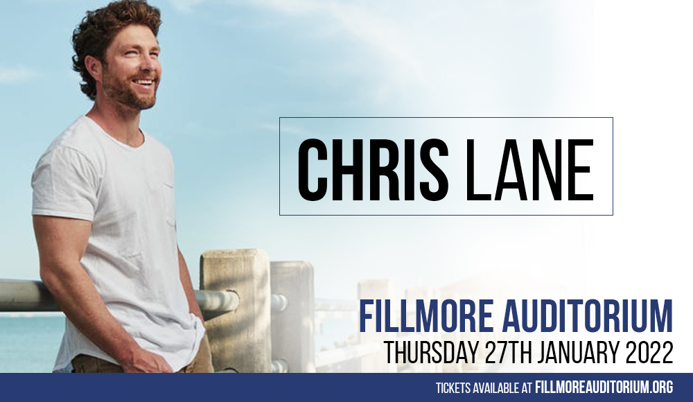 Chris Lane at Fillmore Auditorium