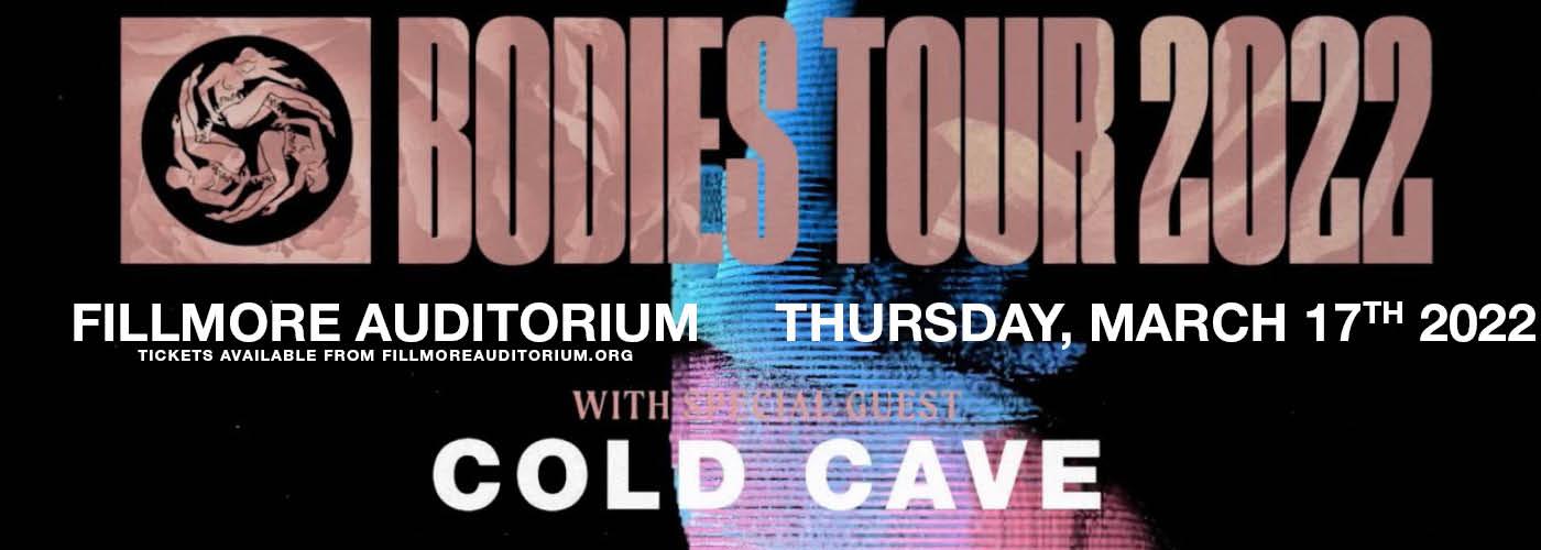 AFI: Bodies Tour 2022 at Fillmore Auditorium