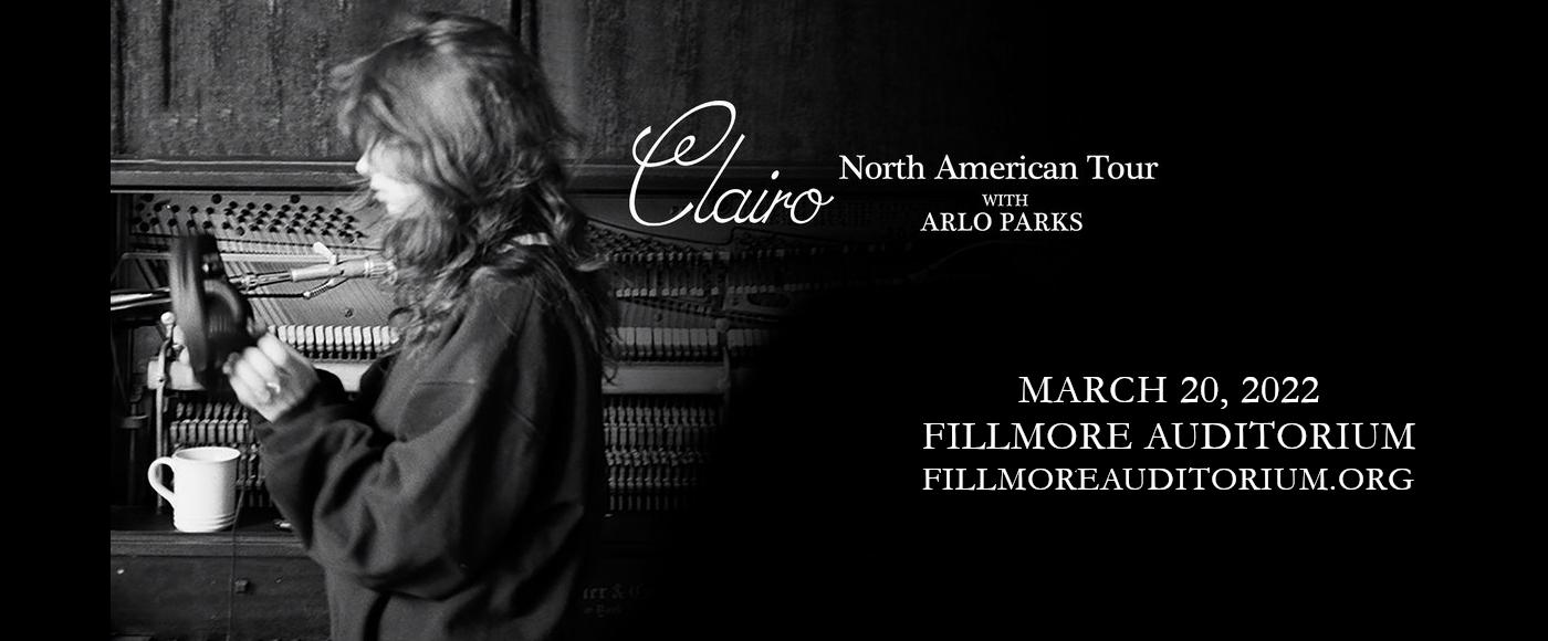 Clairo, Arlo Parks & Widowspeak at Fillmore Auditorium