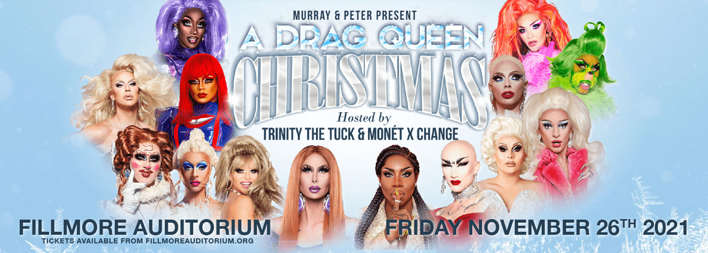 A Drag Queen Christmas: The Naughty Tour at Fillmore Auditorium